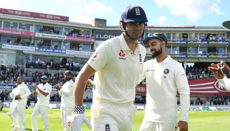 India England Alastair Cook questions Virat Kohli'S  statement about Ahmedabad pitch