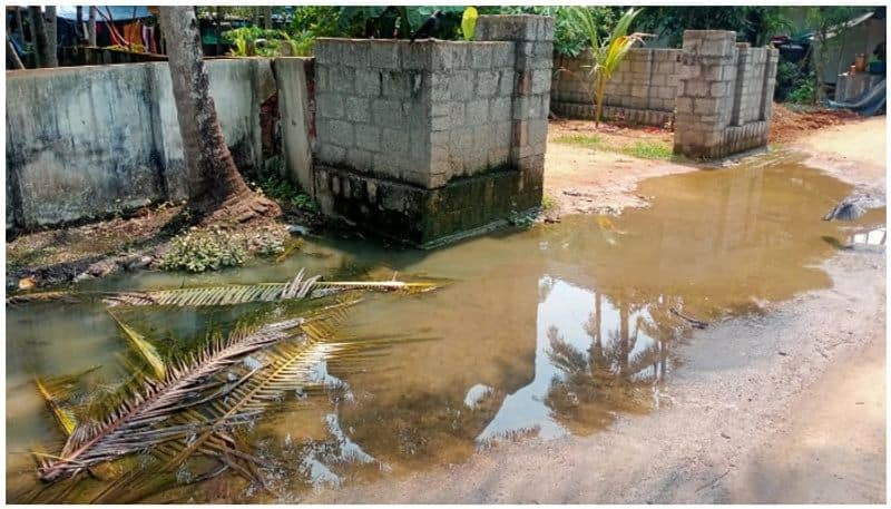 Six months after the pipeline burst