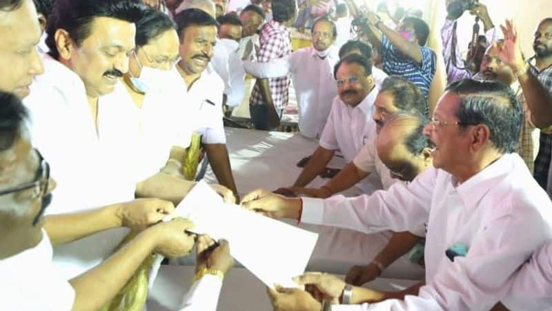 Assembly elections..MK Stalin appilication seeks to contest from kolathur constituency