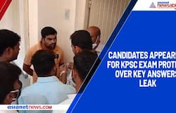Candidates appearing for KPSC exam protest over key answers leak