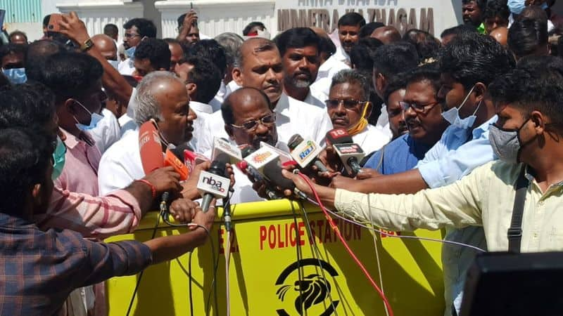 All India Moovendar Front in AIADMK alliance .. Insisting on 3 constituencies.