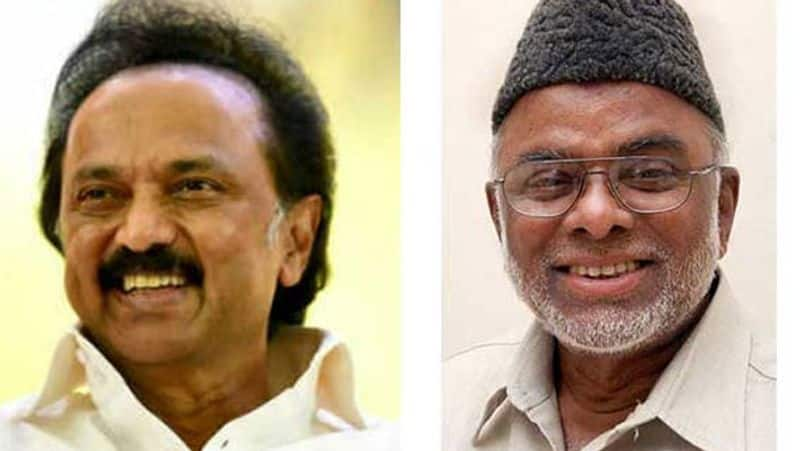 Indian Union Muslim League Competition in separate symbol... Kader Mohideen