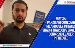 Watch: Pakistani comedian hilariously imitates Shashi Tharoor's English; Congress leader impressed
