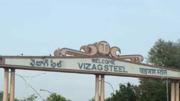 vizag steel plant employees released Finance Director ksp
