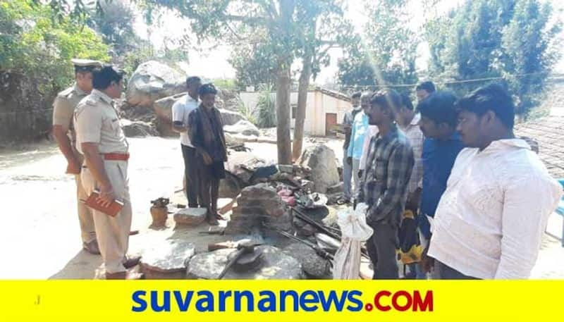 Country made illegal gun maker arrested Chikkaballapur mah