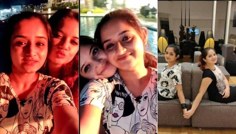 Shiva Anjali and then Shafna Gopika shared a picture and video