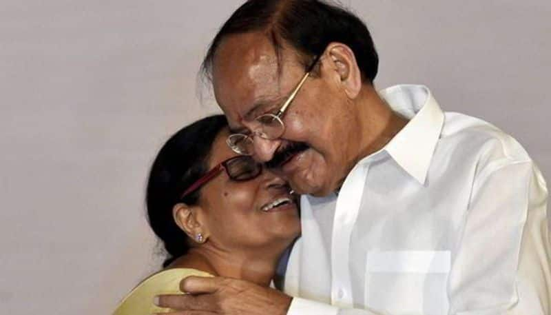 vice president venkaiah naidu birthday wishes to his wife ksp
