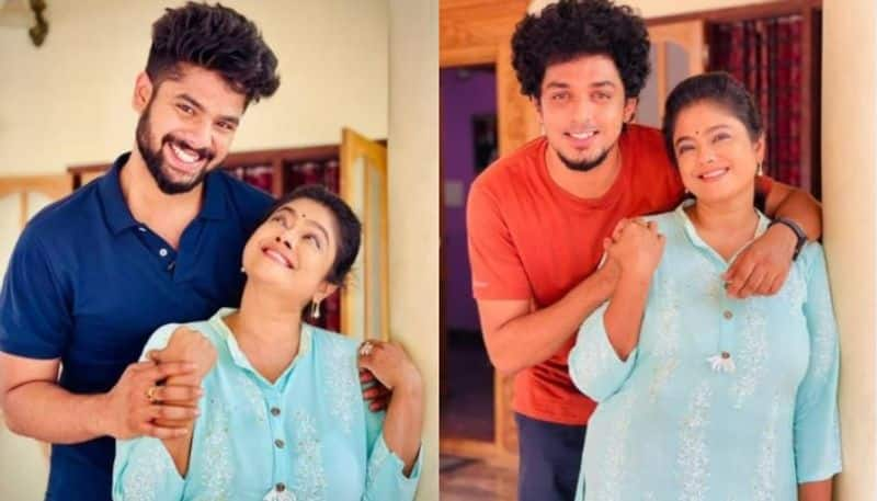manju pillai shared serial location stills with onscreen childrens aadhi and kannan