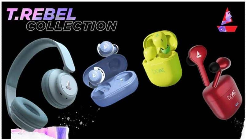 Boat launches TRebel headphones and earbuds for women price starts at Rs 399