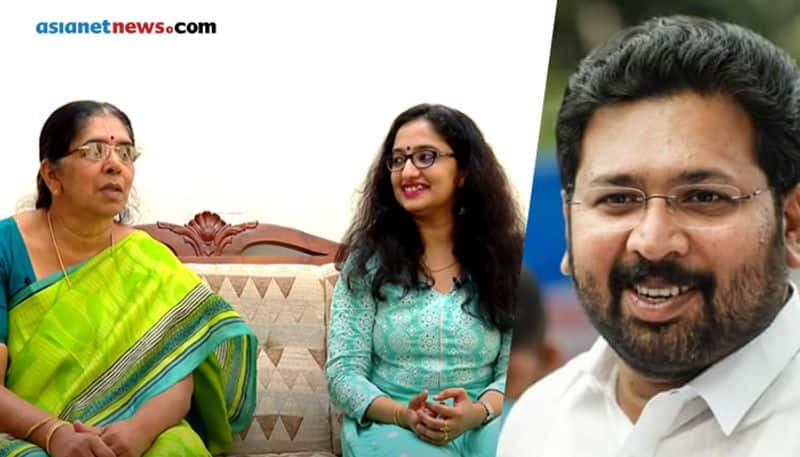 Kerala Legislative Assembly Election 2021 K S Sabarinathan MLA family interview by Alakananda