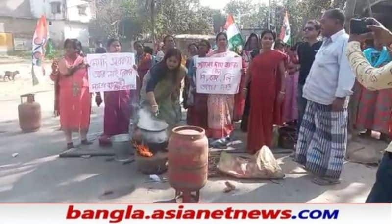 TMC has protested by cooking on an oven due to gas price hike  RTB