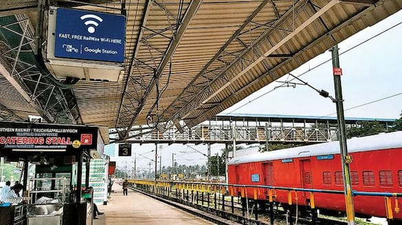 ALl 15 Kashmir valley railway station connected with Wi fi network of Indian Railways ckm