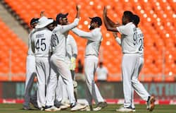 <p>On Day 1, England had elected to bat first and got skittled for 205. While spinner Axar Patel scalped a four-for, all-rounder Ben Stokes struck 55.</p>