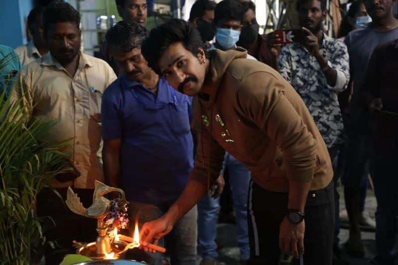 vishnu vishal acting mohandoss movie shooting started