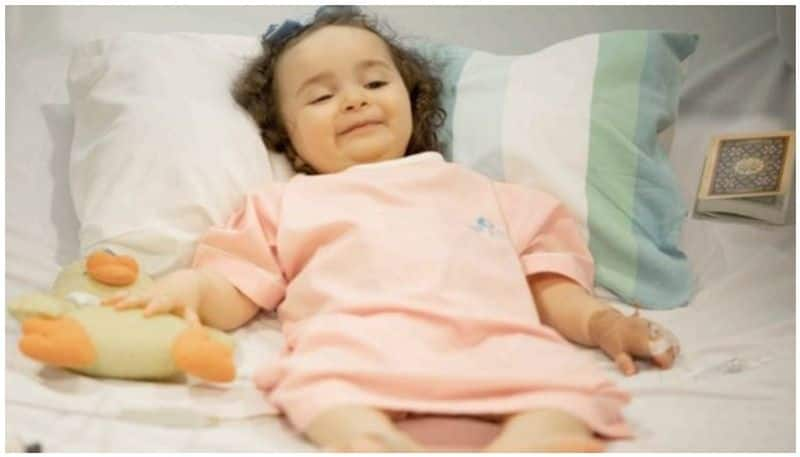 dubai ruler bears cost of life saving treatment for two year old girl