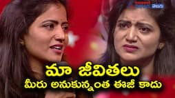 Savitri alias Shiva jyothi says that her moral support is being pushed away