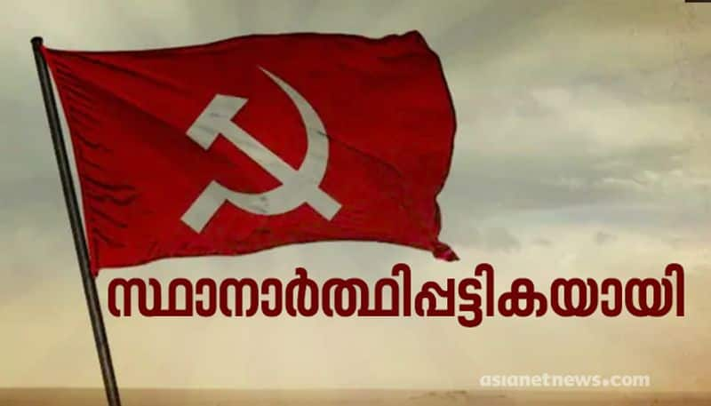 kerala assembly polls 2021 cpim candidate list final published
