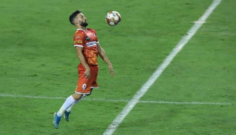 ISL 2020-2021 FC Goa's Jorge Ortiz Mendoza Hero of the match against Mumbai City FC