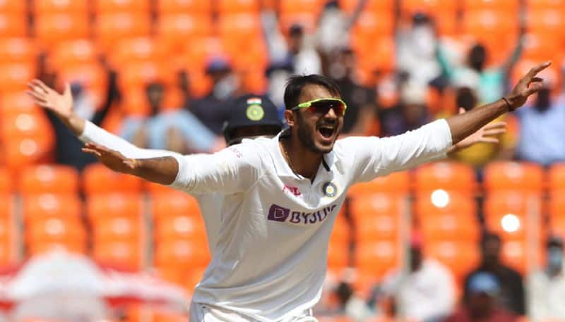 Axar Patel got some records in his debut test series