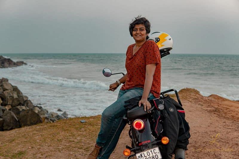 Gopika Subhash Rider Story Royal Enfield
