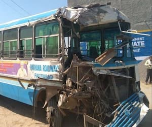 Two buses collided in Aligarh, 5 people killed, 30 injured asa