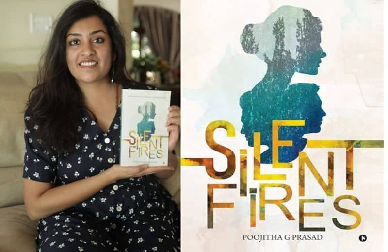 Poojitha G Prasad suspense thriller English novel Bengaluru book launch invite ck