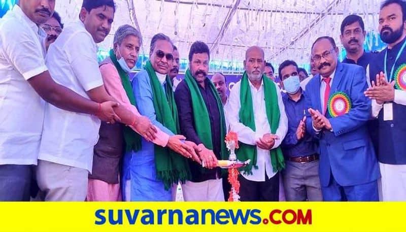BC Patil Inaugurate Agricultural College at Gangavati in Koppal grg