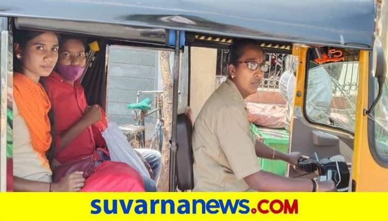 Auto Driver Nandini Leading Respectful in Life grg