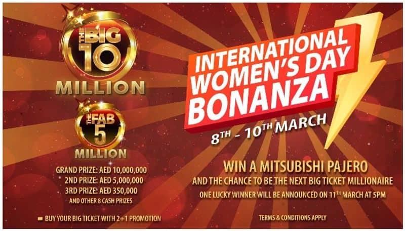 big ticket international womens day bonanza