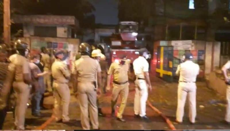 after 13 hours still fire not properly arrested at stand road BJC