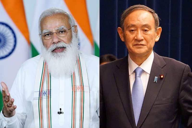 India Japan Modi, Suga discuss Quad in 40-minute phone call-VPN