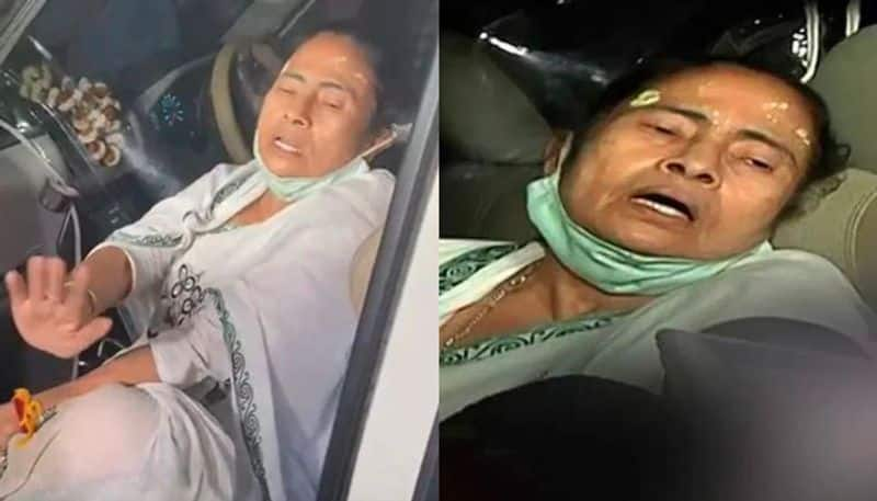 CM Mamata Banerjee was injured while campaigning in Nandigram spb