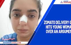 Zomato-delivery boy allegedly punches a young woman in Bengaluru; Watch viral video