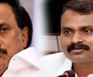 The BJP has adopted the style of MK Stalin ... protest against the opening of the Tasmac ..!