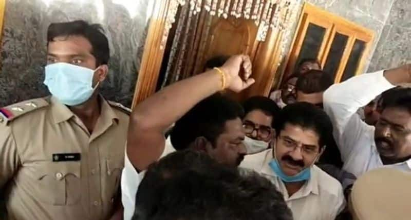 Anaparthi ex MLA Ramakrishna Reddy arrested in East Godavari district