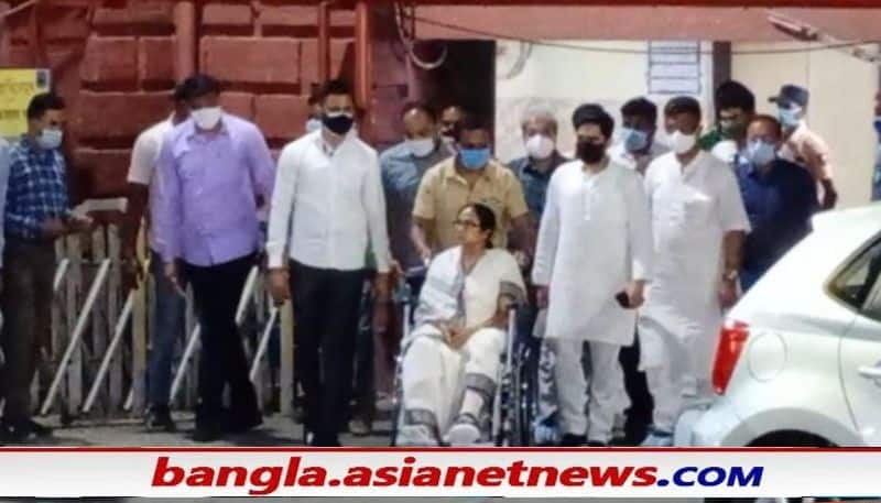 Mamata Banerjee discharged from SSKM hospital on Friday ALB