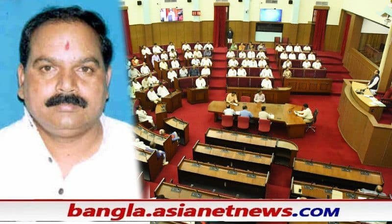 BJP Odisha MLA attempts suicide in assembly to raise farmers' problems ALB