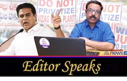 Editor Speaks: The strategy behind KTR comments on Visakha steel plant privatisation