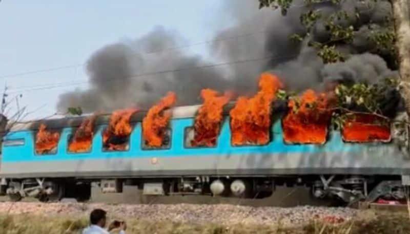 Shatabdi Express bogey that caught fire BJC