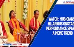 Watch: Musicians' hilarious onstage performance sparks a meme trend