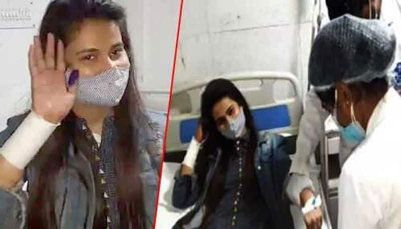 BJP MP Kaushal Kishore's Daughter-in-Law Slits Her Hand, Alleges Ill-Treatment by Husband, His Family