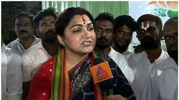 Why is this happening only to me? kushboo lamenting ..!
