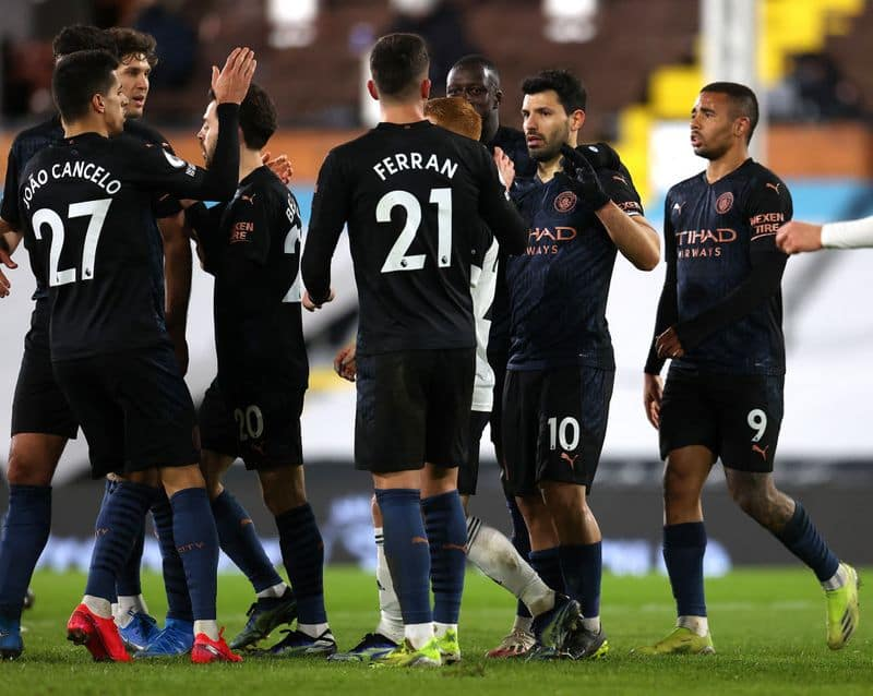 <p><strong>Manchester City continues its sleek ride against Fulham</strong><br /> City is turning out to be the outright favourite to win the title this season. Despite the 0-2 home upset against Manchester United last week, it has managed to continue its winning ride against the other sides. This week, it tamed relegation-threatened Fulham away from home and extended its lead on the top by 14 points, having played a game more.</p>
