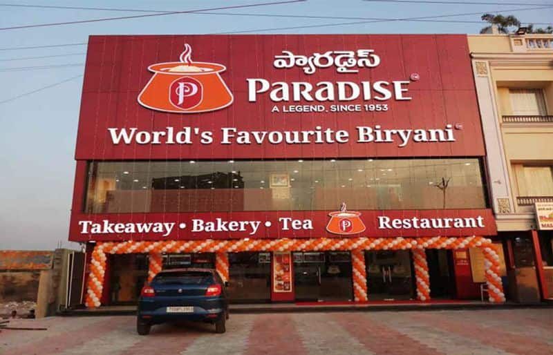 Paradise restaurant Seized in Hyderabad