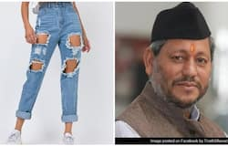 <p>ripped jeans</p>