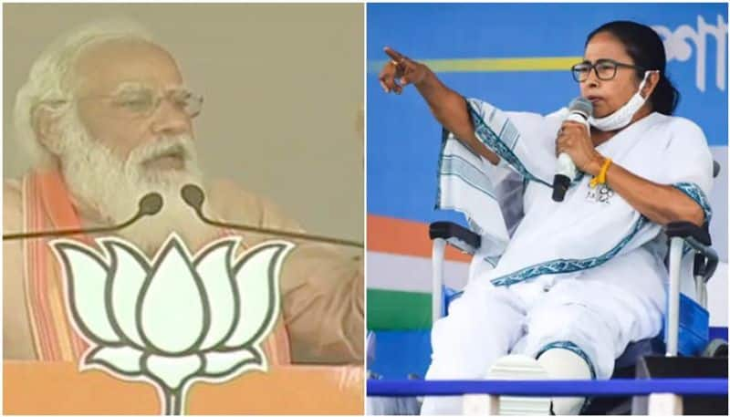 PM Narendra Modis acerbic comeback to Banerjee khela hobe pitch mah