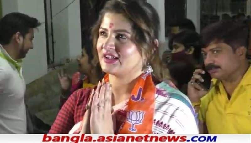 Srabanti Chatterjee eats phuchka and shares her pwari version during her vote campaign BRD