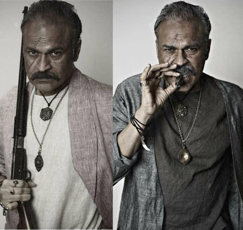 Naga Babu Plays Villain Role In Chatrapathi Movie Hindi Remake jsp