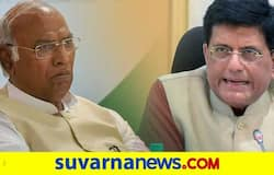 <p>Mallikarjun Kharge, Piyush Goyal</p>