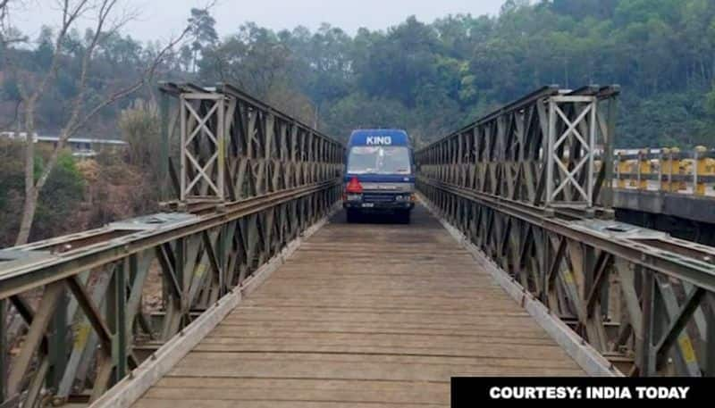 Border Road Organisation launches bridge in just 5 days, connecting Shillong with Silchar